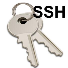 Генерируется очень просто: ssh-keygen -t rsa. Существует задача куда-нибуд